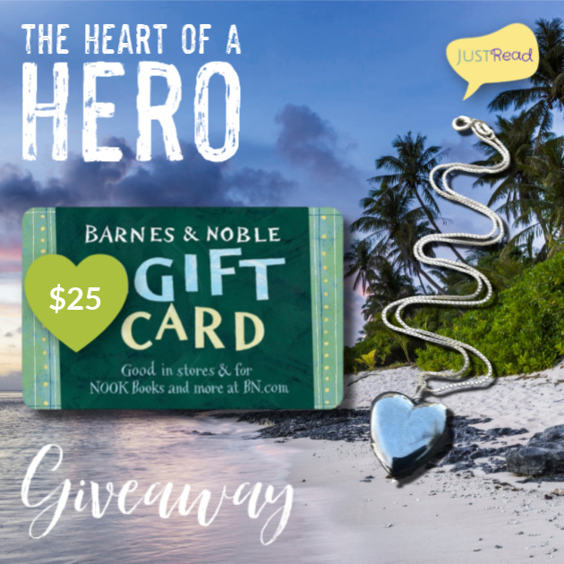 The Heart of a Hero JustRead Giveaway